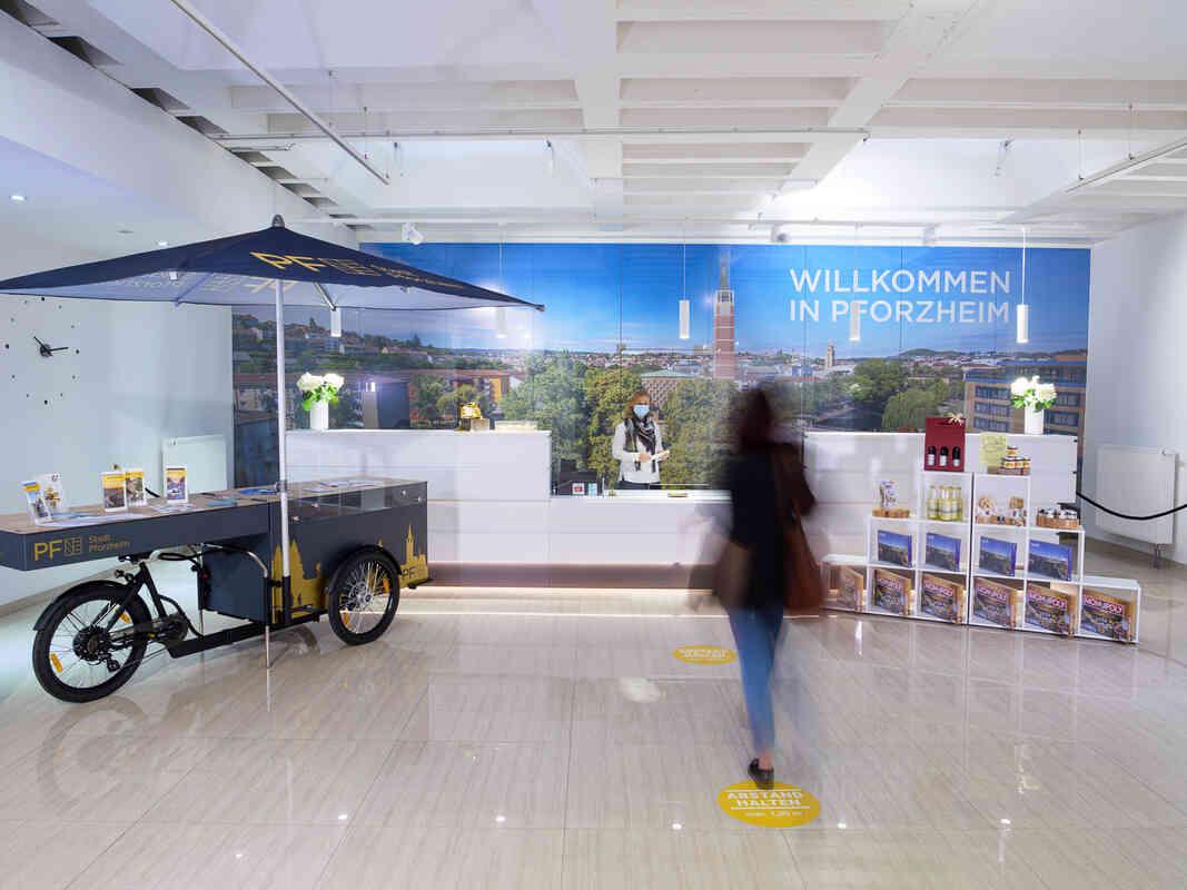Die Tourist-Information Pforzheim freut sich auf Dich
