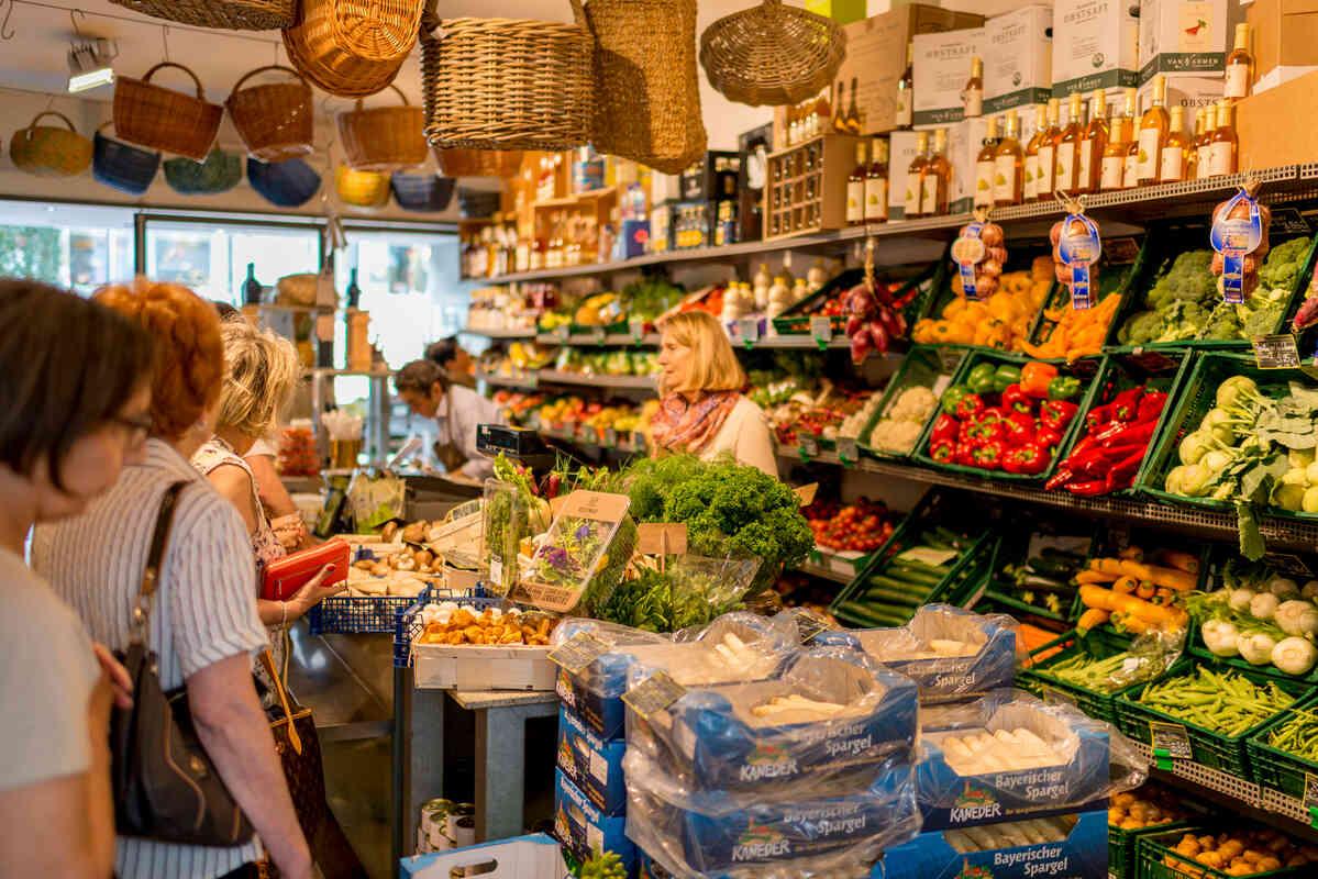 Bauernmarkt in Pforzheim