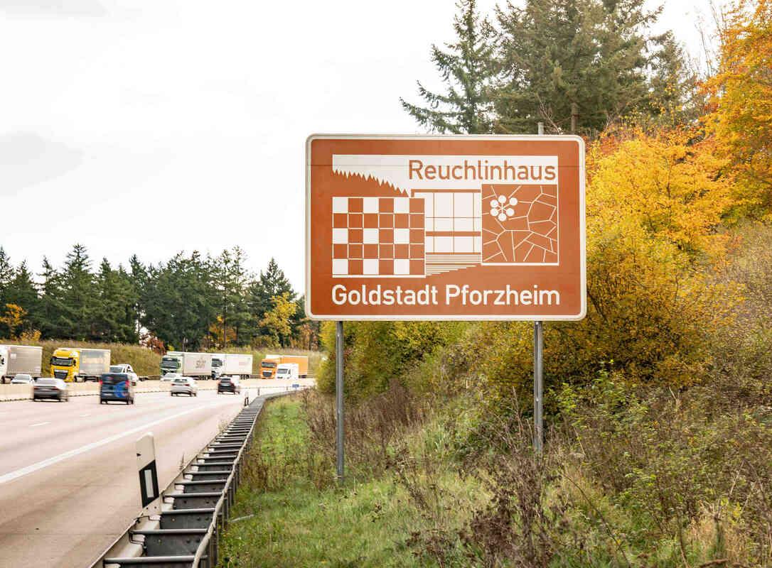 Autobahnausfahrt Pforzheim
