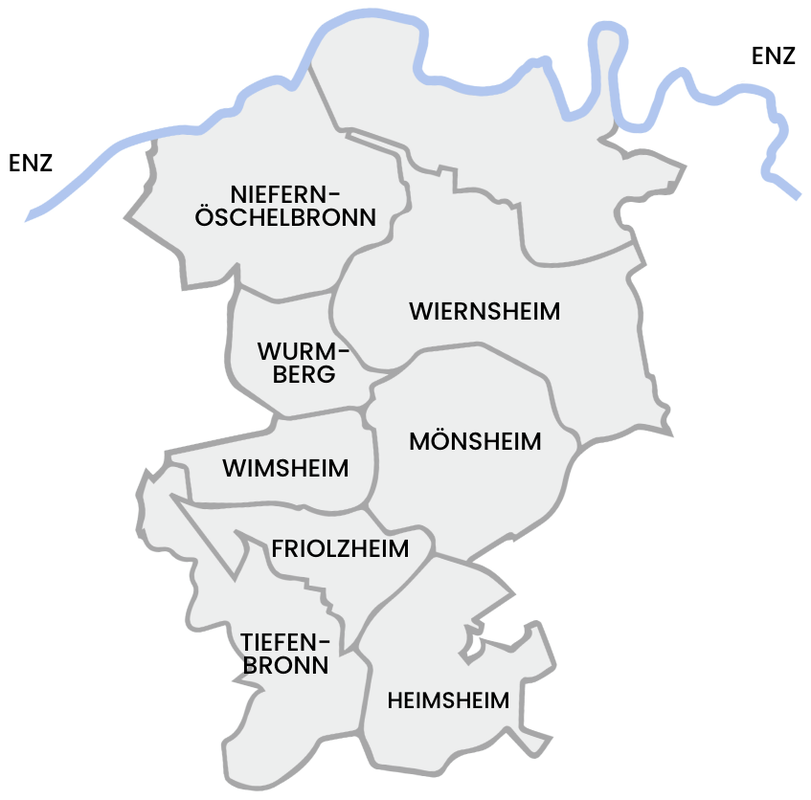 Karte Heckengaeu